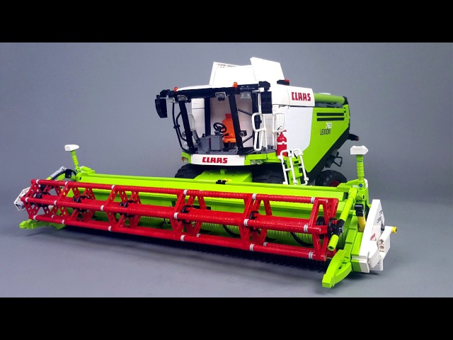 CLAAS LEXION 760 in LEGO version by Eric Trax