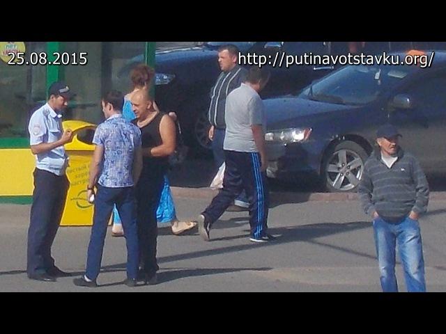 Полицейские избили отца на глазах у ребенка в г. Кемерово