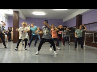 Hip-hop routine for beginners Elmi Stomp