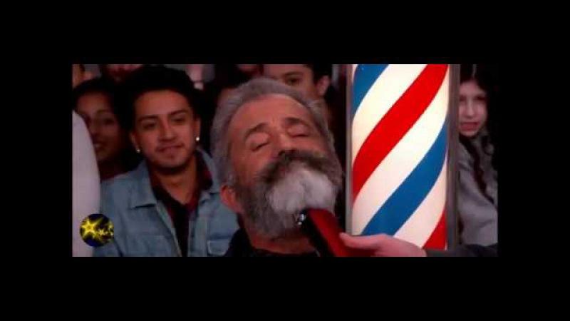 ХИТ! 61 летний актер и звезда Голливуда Мэл Гибсон сбрил бороду на шоу Джимми Киммела