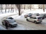Не лучшее место для парковки))