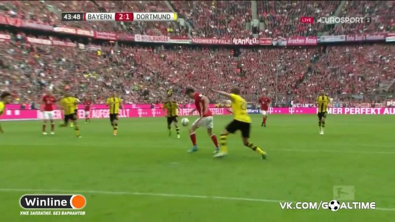 ГолТВ рф Бавария Боруссия Д 4 1 Обзор матча Германия Бундеслига