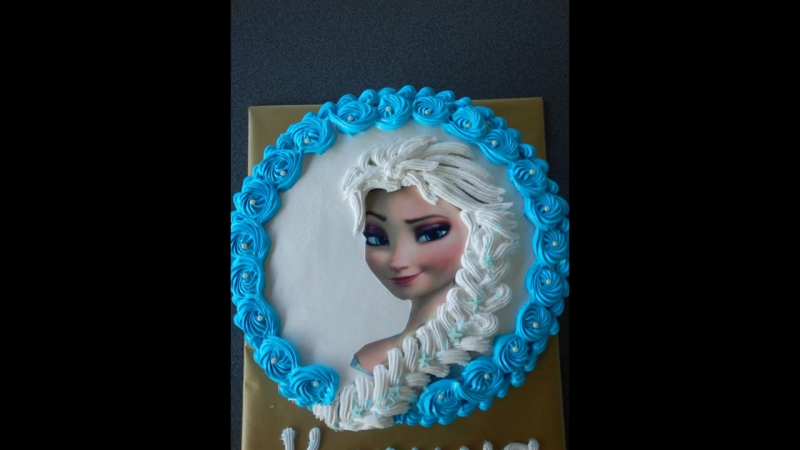 """торт """"Эльза""""⁄Eiskönigin Torte"""