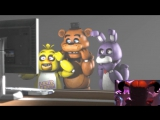[FNAF SFM] Freddy Chica and Bonnie React to Sister Location VIDEO TRAILER Reaction Animation - YouTube [720p]