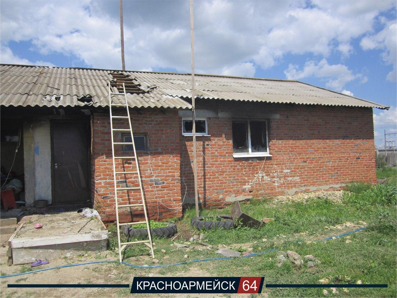 Дом, в котором сгорела квартира