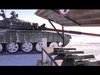 Танковые экипажи из Воронежской и Московской области готовятся к «Танковому биатлону» АРМИ-2017.