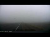 Ужасная авария в тумане