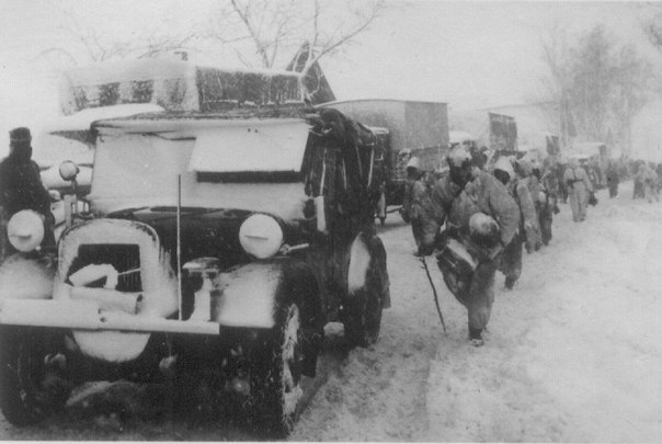 Отступление немецких частей группы армий «Дон» после неудачной попытки
