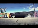 Тачка огонь Dodge Challenger SRT супер клип