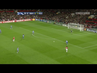 156 CL-2007/2008 Manchester United - Dinamo Kiev 4:0 (07.11.2007) 1H