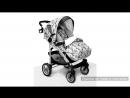 Прогулочная коляска Esspero X-Drive Denim white