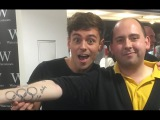 The guy with the TOM DALEY TATTOO!