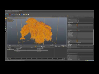 Clarisse 3.0 Improved Fur Interpolate Object