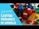 Arnold for Cinema 4D Variance Techniques For Random Color