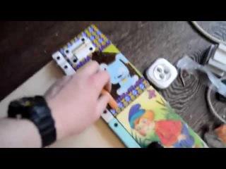 БизиБорд игровой развивающая стенд своими руками (Часть 2)