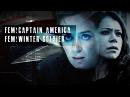 We're alone captain america winter soldier genderswap
