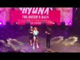 Hyuna's goodbye speech + how this (Hyuna's LA tour 2017)