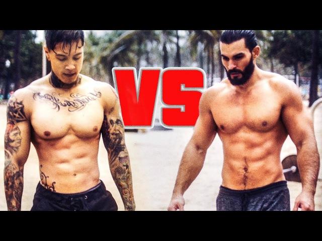 Chris Heria VS Super Sergio - BAR WARS 2k16 4