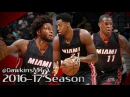 Dion Waiters Justise Winslow Hassan Whiteside 42 Pts Combined 2016 10 13 at Spurs