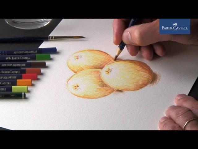Акварельные карандаши от Faber Castell