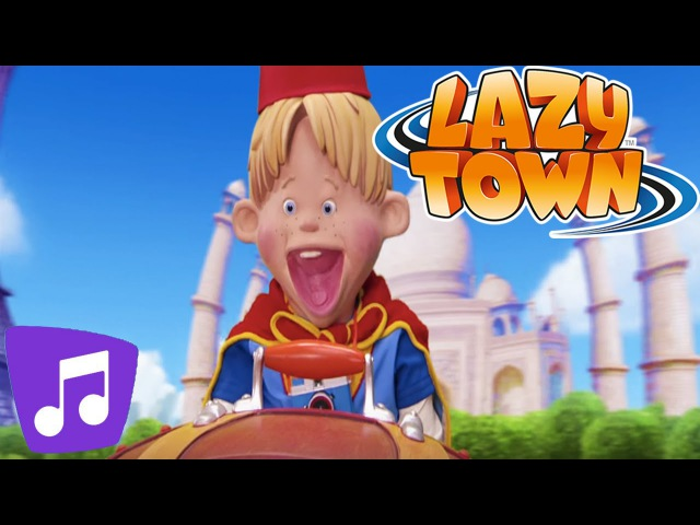 Lazy Town | Fortune Teller Music Video