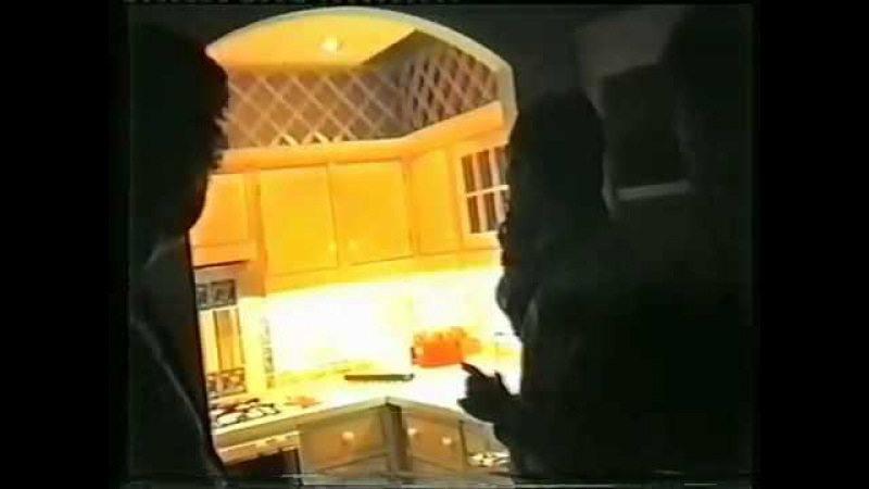 Freddie Mercury at home in Garden Lodge in his kitchen Private Video