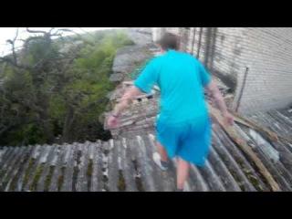 Эпик-влог|Залезли на вышку здания!
