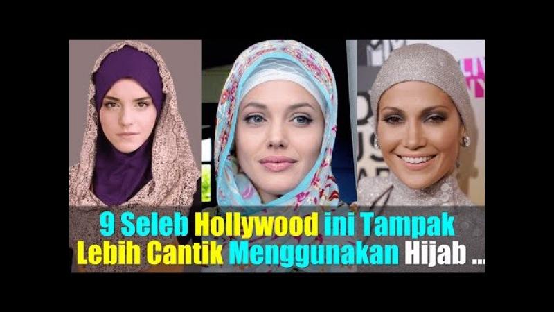 9 Seleb Hollywood ini Tampak Lebih Cantik dan Mempesona Jika Menggunakan Hijab