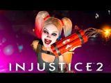 INJUSTICE 2 HARLEY QUINN GAMEPLAY(PS4Xbox One)