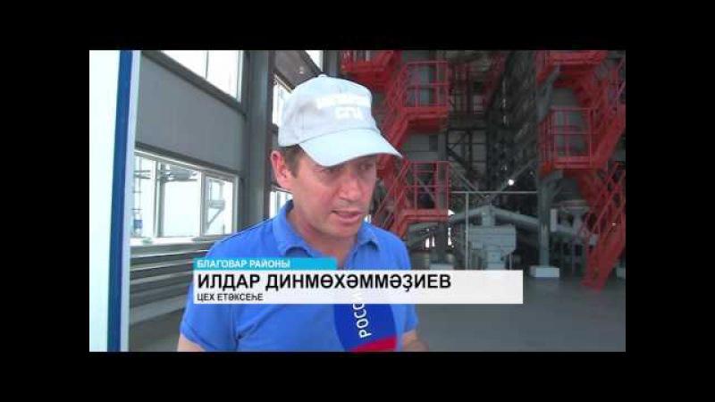 Благоварҙа яңы элеватор һәм ҡатнаш аҙыҡ заводы эш башланы
