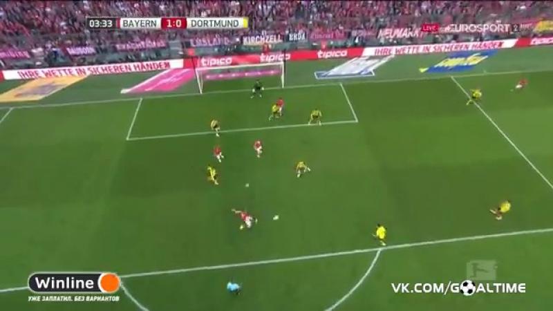 ГолТВ рф Бавария Боруссия Д 1 0 Рибери