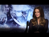 Интервью актрисы Кейт Бэкинсэйл для программы