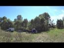 Так на Инзере вблизи деревни Абзаново отдыхают коровы.