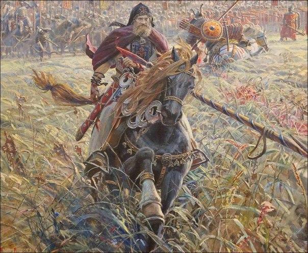 Поединок Пересвета с Челубеем. Павел Рыженко