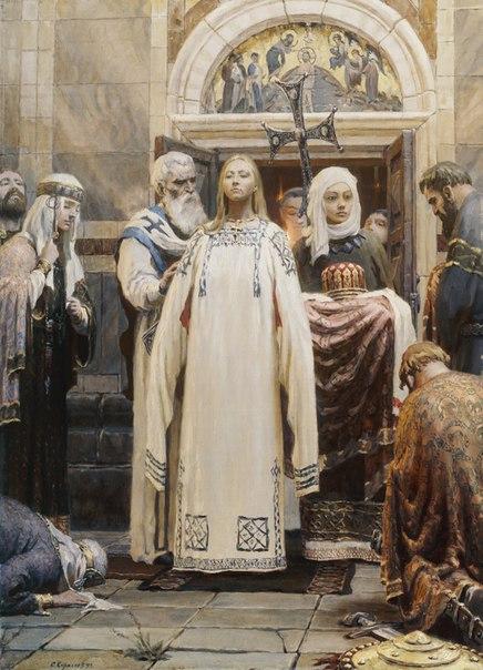 Княгиня Ольга (Крещение). Первая доля трилогии