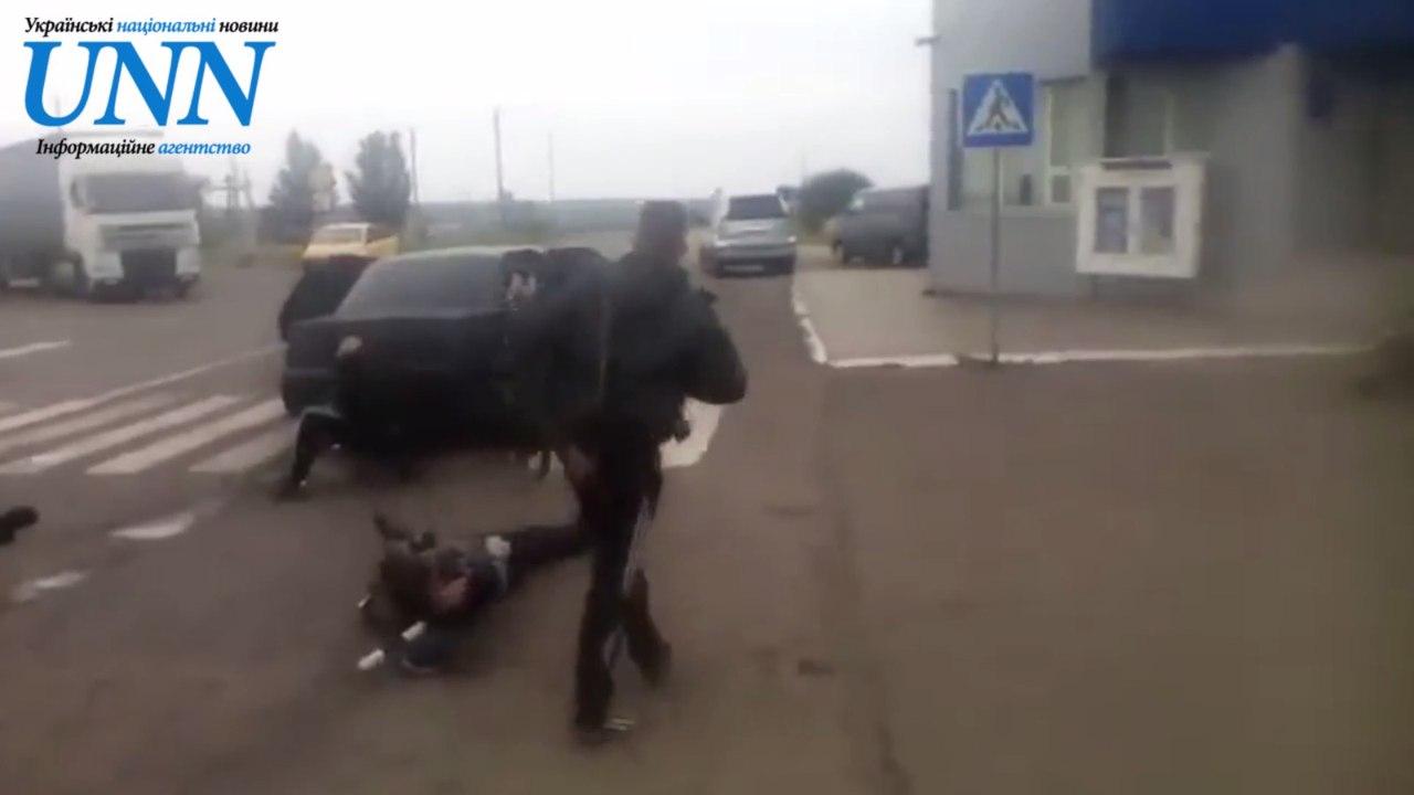 Бойцы армии  ДНР «захватили» пост ГАИ под Мариуполем