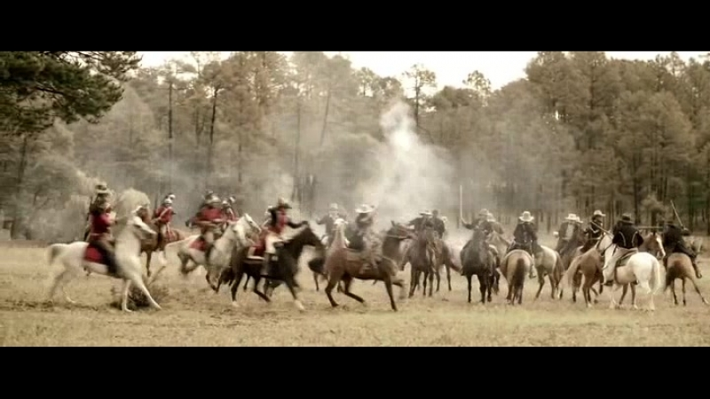 Кавалерийская сшибка между техасцами и мексиканцами при Сан-Хасинто (Восстание Техаса)