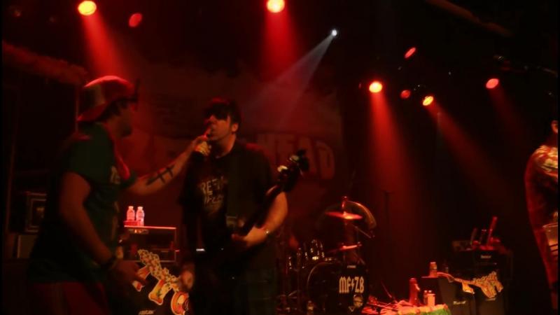 Zebrahead Ricky Bobby live in Herzele 2011