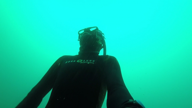 My freediving 21m