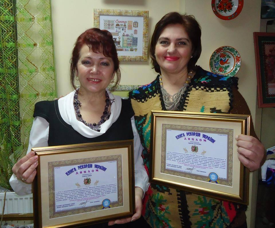 Буковинський вишиваний проект «Обрус Гараса» — у книзі рекордів України