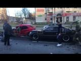 В массовой аварии на Гражданском проспекте пострадали трое
