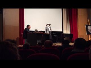 Выступление Иман Валерии Пороховой на вечер памяти Гейдар Джемаля