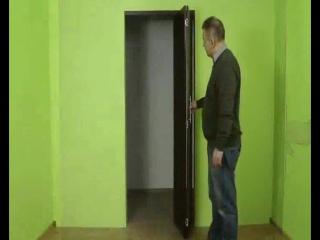 Складные двери - инструкция по применению.