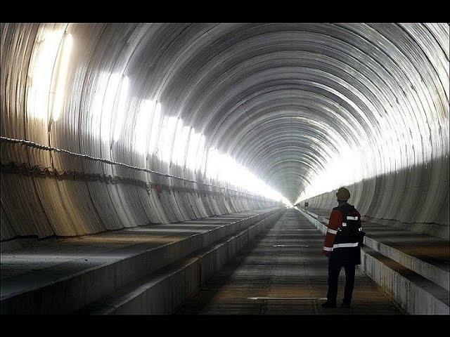 Сатанизм в центре Европы/Открытие тоннеля под альпами