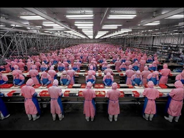 Как работают китайцы на заводе! Завод в Китае Как Город! Дискавери документальные фильмы