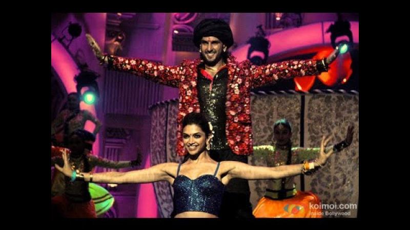 Deepika Padukone Ranveer Singh performance in Zee Cine Awards