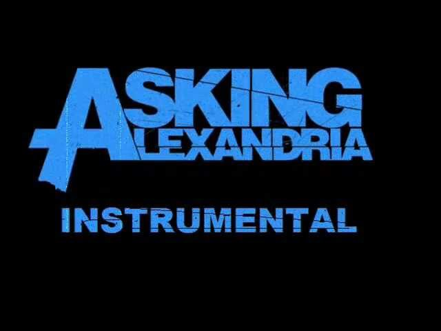 Asking Alexandria - A Candlelit Dinner with Inamorta backtrack (bass and drums)