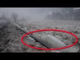 Невероятный ледоход в Закарпатье на реке Тиса (04.02.2017)