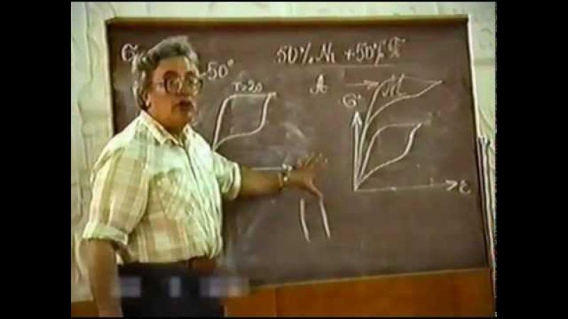 Лекция о сплавах с эффектом памяти формы (Итин В.И.)