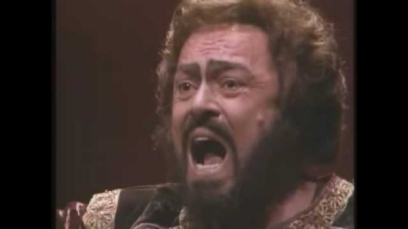 Di quella pira Pavarotti in B even the great Luciano did not dare to sing it in original key